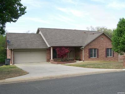 Hot Springs Single Family Home For Sale: 122 Oak Bend Loop