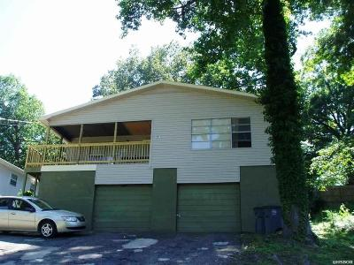 Hot Springs Multi Family Home For Sale: 249 & 251 Glade St