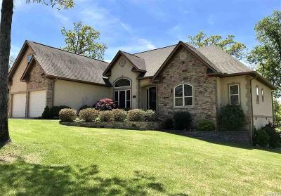 Hot Springs Single Family Home For Sale: 145 Big Oak Trail