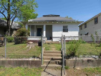 Hot Springs Single Family Home For Sale: 215 Jackson