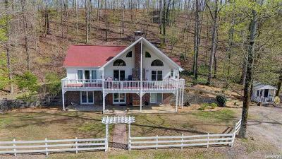 Hot Springs Single Family Home For Sale: 175 Appaloosa Trail