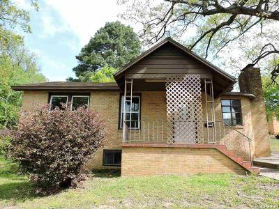 Hot Springs Single Family Home For Sale: 1206 Greenwood Av