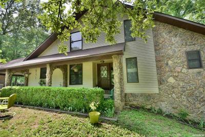 Hot Springs AR Single Family Home For Sale: $159,000
