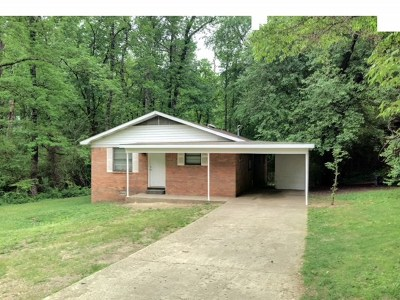 Hot Springs Single Family Home Active - Contingent: 248 Ida