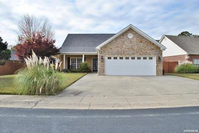 Hot Springs AR Single Family Home Active - Contingent: $239,900