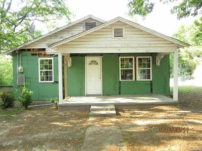 Hot Springs AR Single Family Home For Sale: $30,000