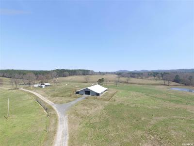 Garland County, Hot Spring County Single Family Home For Sale: 200 Acres Mount Moriah Rd