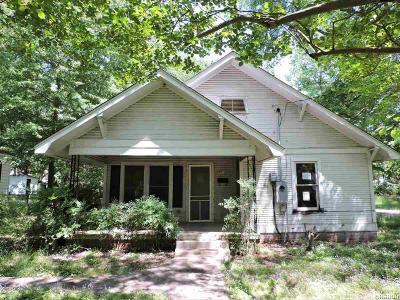 Single Family Home For Sale: 1315 Locust Street