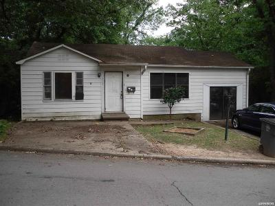 Hot Springs AR Single Family Home For Sale: $23,000