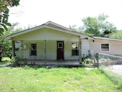 Hot Springs AR Single Family Home For Sale: $18,500