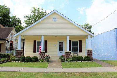 Hot Springs AR Single Family Home For Sale: $55,000