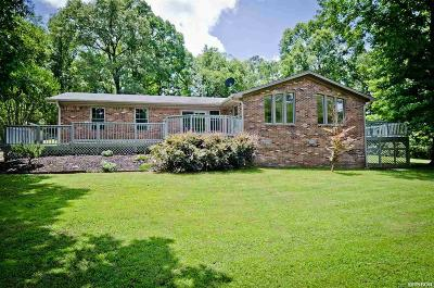 Hot Springs Single Family Home For Sale: 423 Coachlight Rd