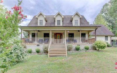 Hot Springs Single Family Home For Sale: 5419 Millcreek Rd