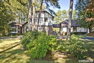 Hot Springs Single Family Home For Sale: 127 Carnation Pl