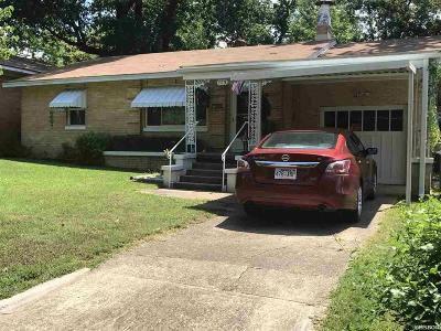 Hot Springs AR Single Family Home For Sale: $64,900