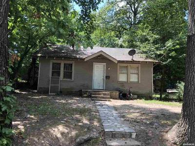 Hot Springs AR Single Family Home For Sale: $40,000