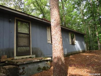 Hot Springs Single Family Home For Sale: 145 Jonboat