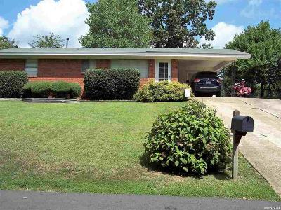 Hot Springs AR Single Family Home Active - Contingent: $87,500