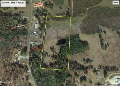 Bismarck Residential Lots & Land For Sale: 20 Acres Hwy 84 #Hwy 7
