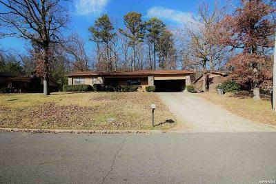 Hot Springs Single Family Home For Sale: 115 Southern Hills Dr