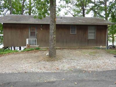 Garland County Single Family Home For Sale: 106 Horseshoe Point