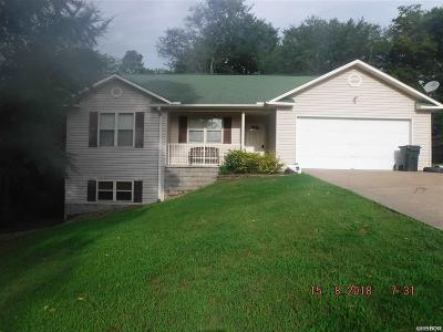 Hot Springs AR Single Family Home For Sale: $155,000
