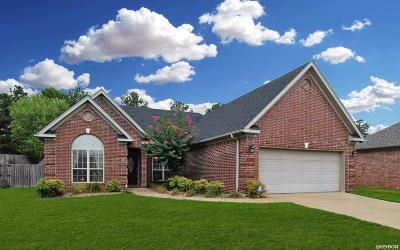 Benton Single Family Home For Sale: 3826 Wildflower Dr