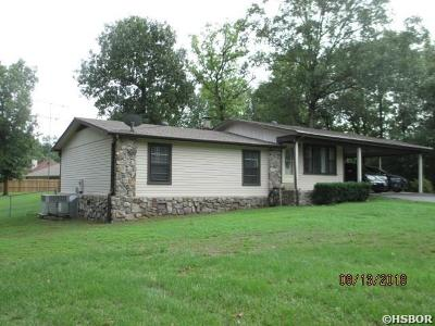 Hot Springs AR Single Family Home For Sale: $149,450