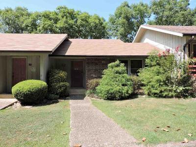 Garland County Condo/Townhouse Back On Market: 32 Perralena Way