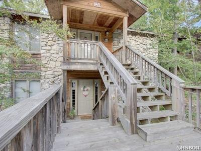 Mt. Ida Condo/Townhouse For Sale: 20 Peninsula Dr #B