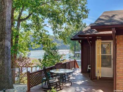 Hot Springs Single Family Home For Sale: 134 Riverside Drive