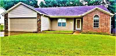 Benton Single Family Home For Sale: 2625 Valley Forge Dr.
