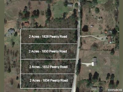 Pearcy Residential Lots & Land For Sale: 1832 Pearcy Rd