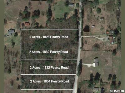 Pearcy Residential Lots & Land For Sale: 1834 Pearcy Rd