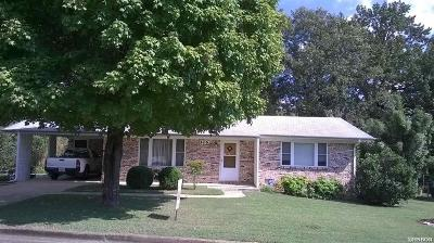 Hot Springs Single Family Home For Sale: 406 Pringle Street