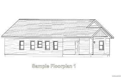 Single Family Home For Sale: Lot 37 Chelle