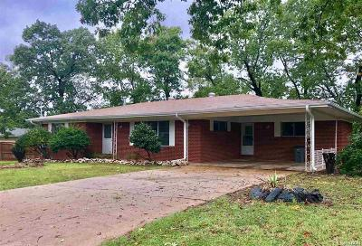 Hot Springs AR Single Family Home For Sale: $134,000