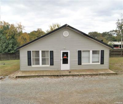 Hot Springs Single Family Home For Sale: 104 Hwy 270