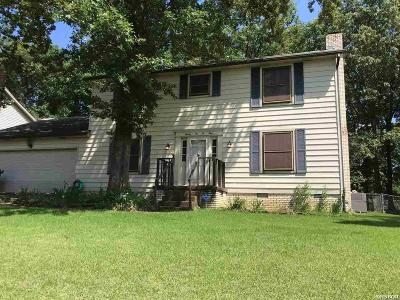 Single Family Home For Sale: 2209 Peach Tree Dr