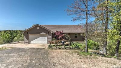 Garland County Single Family Home For Sale: 126 W Hawkview Pl