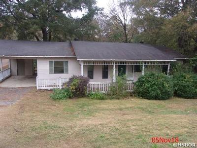 Hot Springs AR Single Family Home For Sale: $55,200