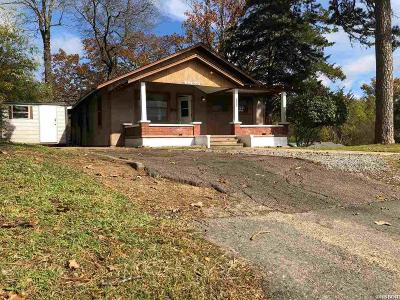 Hot Springs AR Single Family Home For Sale: $58,000
