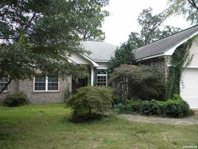Hot Springs Single Family Home For Sale: 129 Knollwood Lodge Rd