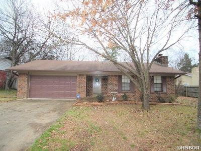 Hot Springs Single Family Home For Sale: 102 Cedarwood