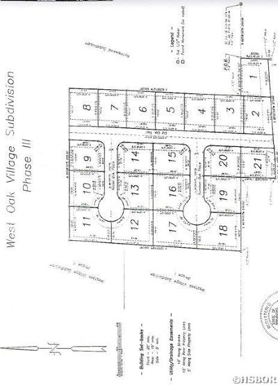 Residential Lots & Land For Sale: Lot 7 Old Oak Trl