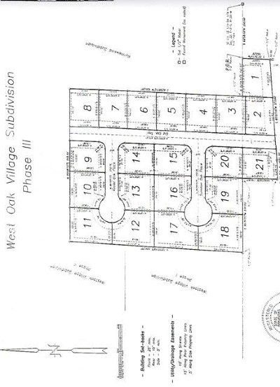 Residential Lots & Land For Sale: Lot 1 Old Oak Trl