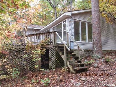 Garland County Single Family Home For Sale: 1181 Ouachita Trail