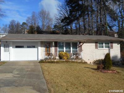 Single Family Home For Sale: 100 Dahlia