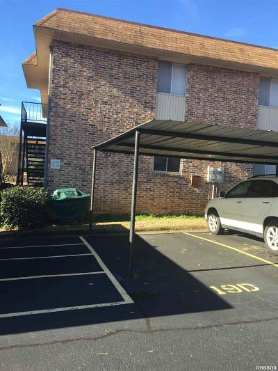 Hot Springs AR Condo/Townhouse For Sale: $150,000