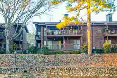 Garland County Condo/Townhouse For Sale: 2325 Lakeshore #D-1